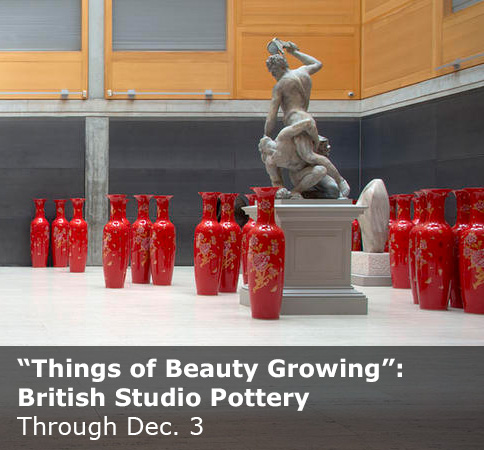 """Things of Beauty Growing"": British Studio Pottery"